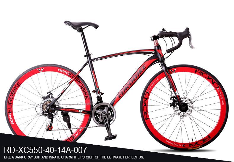 26 Inch 21 Speed Disc Brakes Curved Handlebar Mountain Bike Road