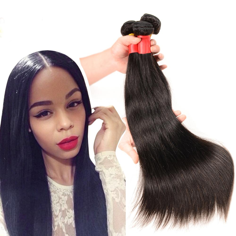 100 Brazilian Human Hair Weave 10 30 Inch Hair Extensions Straight