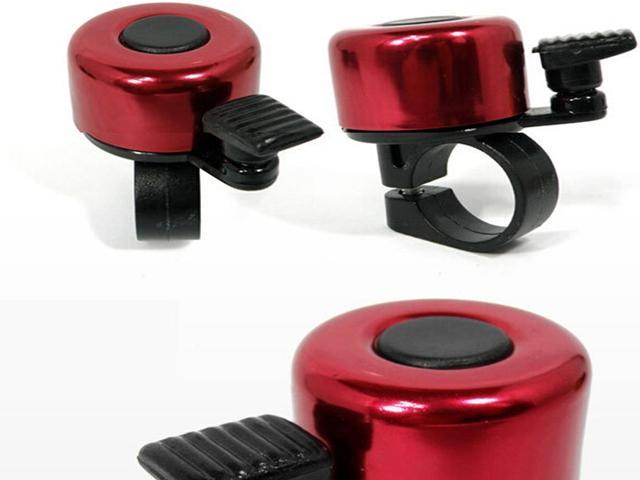 FedEx DHL Darmowa Wysyłka Rower Rower Kierownica Metalowa Ring Bell Dźwięk Alarm, 100 sztuk / partia