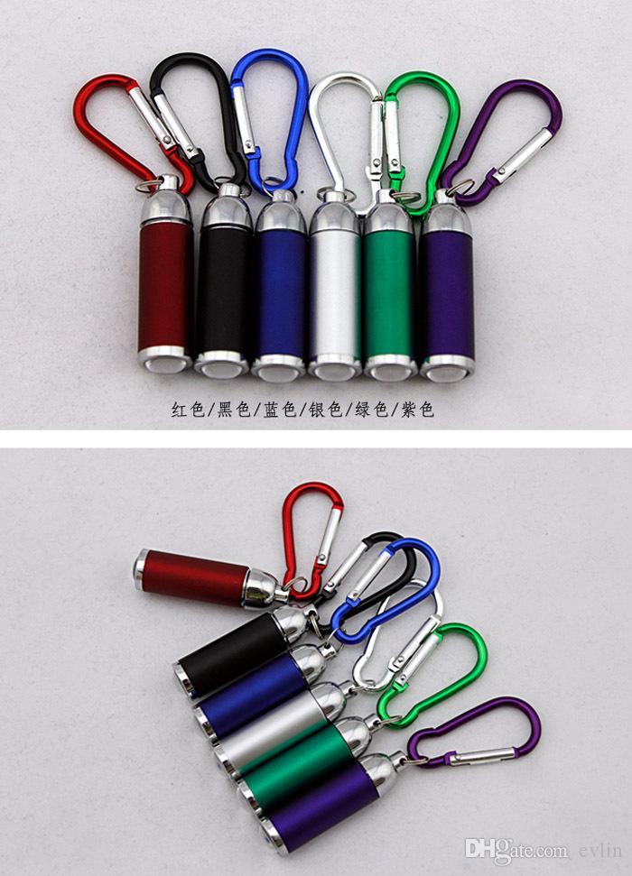 Мини-регулируемым фокусом светодиодный фонарик брелок освещения фонарик
