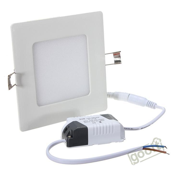سامسونج 4W LED لوحة ضوء مربع SMD2835 320LM الصمام سقف الجدار ضوء مصباح راحة أسفل الصمام لمبة 85-265V ، dandys