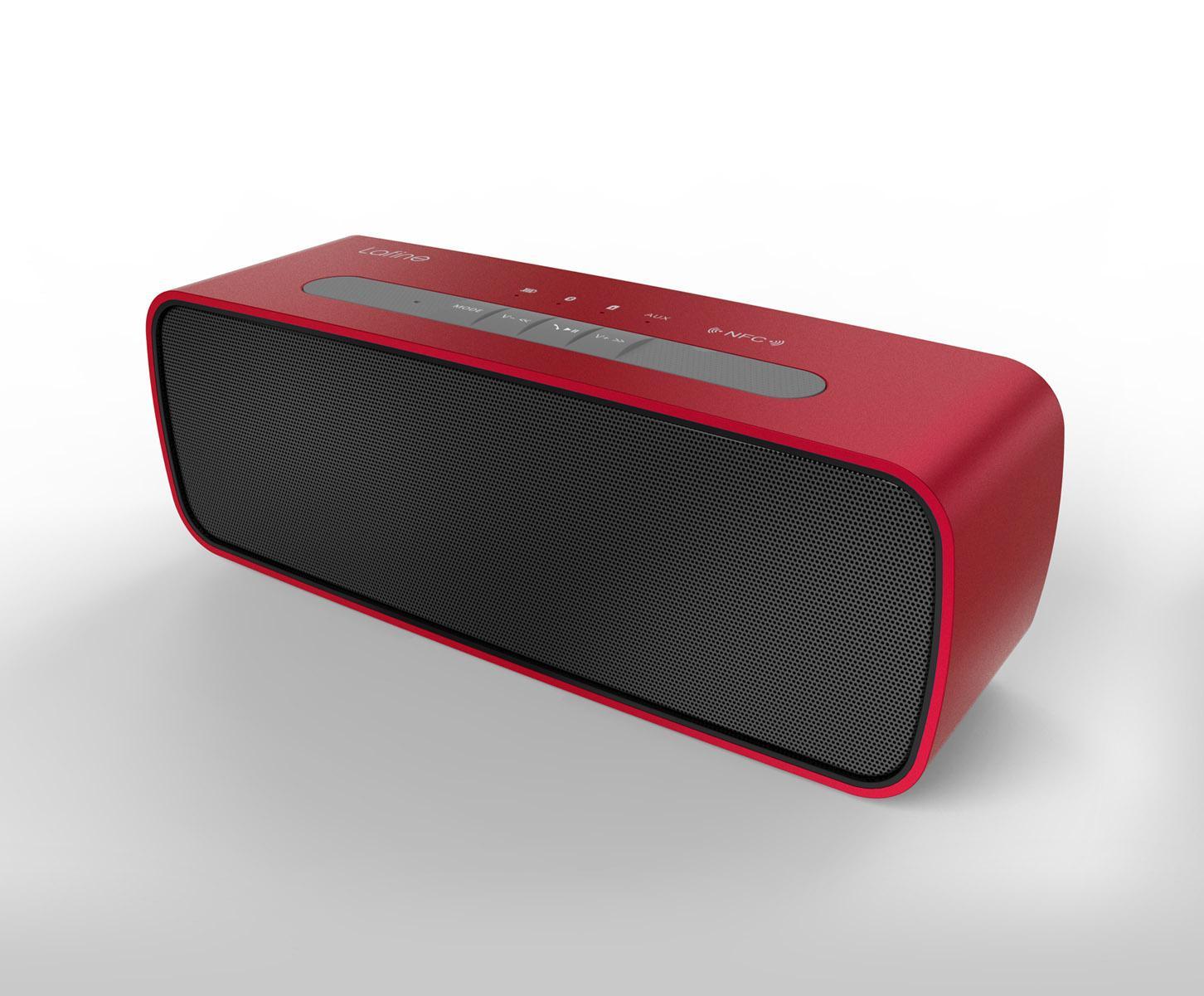 lafine f19 cd quality bluetooth speaker 360 degree surround voice portable bluetooth audio. Black Bedroom Furniture Sets. Home Design Ideas