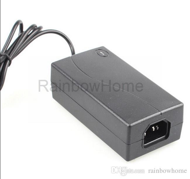 Enchufe del encendedor de cigarrillos del coche Adaptador convertidor de fuente de alimentación de CA a CC 12V para el refrigerador del aspirador del coche 60W 96W 120W + Cable de alimentación