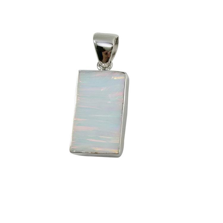 Opal sterling silver pendants of fashion design for young ladies with 5 different colors pure handmade jewelry for N532