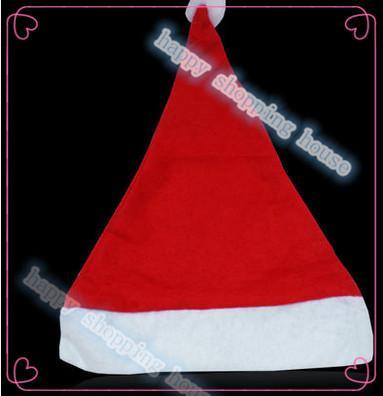 10 adet yükseklik 38 cm genişlik 28 cm Ücretsiz kargo Yetişkin çocuk Noel ürünleri giyim hediyeler kırmızı Noel Olmayan dokuma kumaş