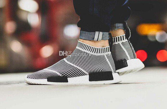 Nmd City Sock Men Women Shoe NMD CS1 City Sock PK Core Black Vintage White  Ftwr White Casual Sports Shoes S79150 Shoes Running Boys Running Shoes From  ... 281148925
