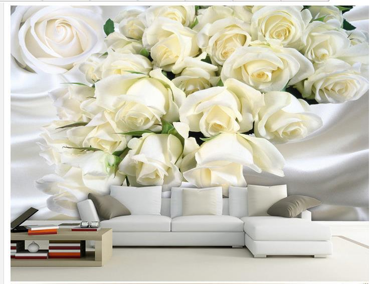 Custom Photo Wallpaper Large 3d Sofa Tv Background Mural Wall Beautiful Roses Simple 20159746 Movie Wallpapers Moving