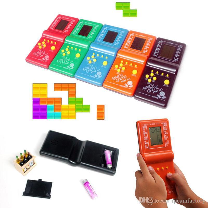 Compre 2017 Ninez Clasico Tetris Juego De Mano Lcd Juegos