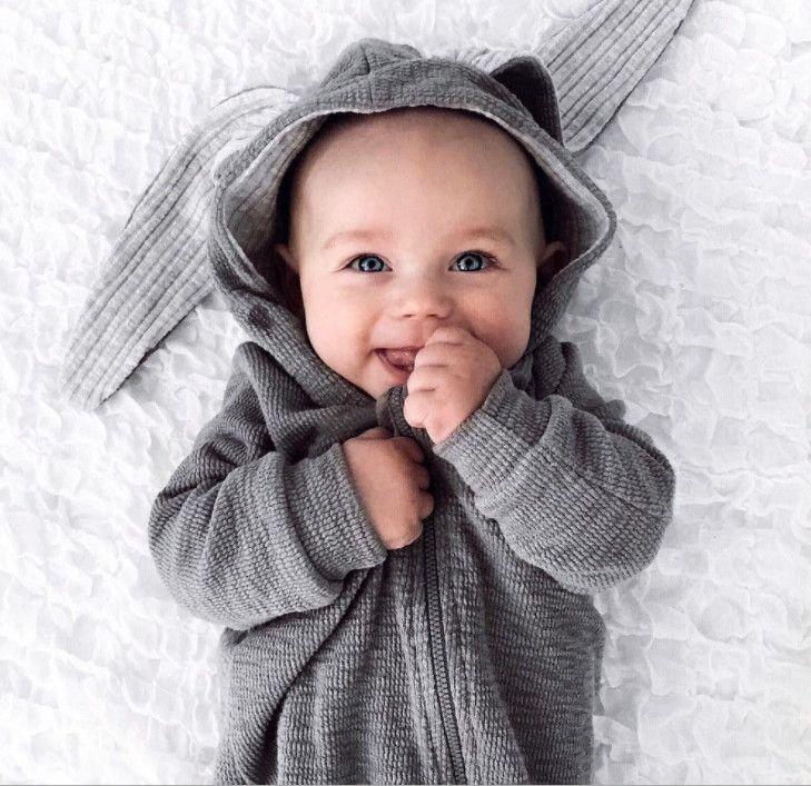 331822d61 2019 2017 Spring Autumn Baby Children Rompers Cute Rabbit Design ...