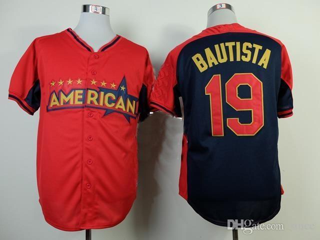 6562a165582 30 Teams- 2014 All Star Baseball Jerseys Wholesale Toronto  19 ...