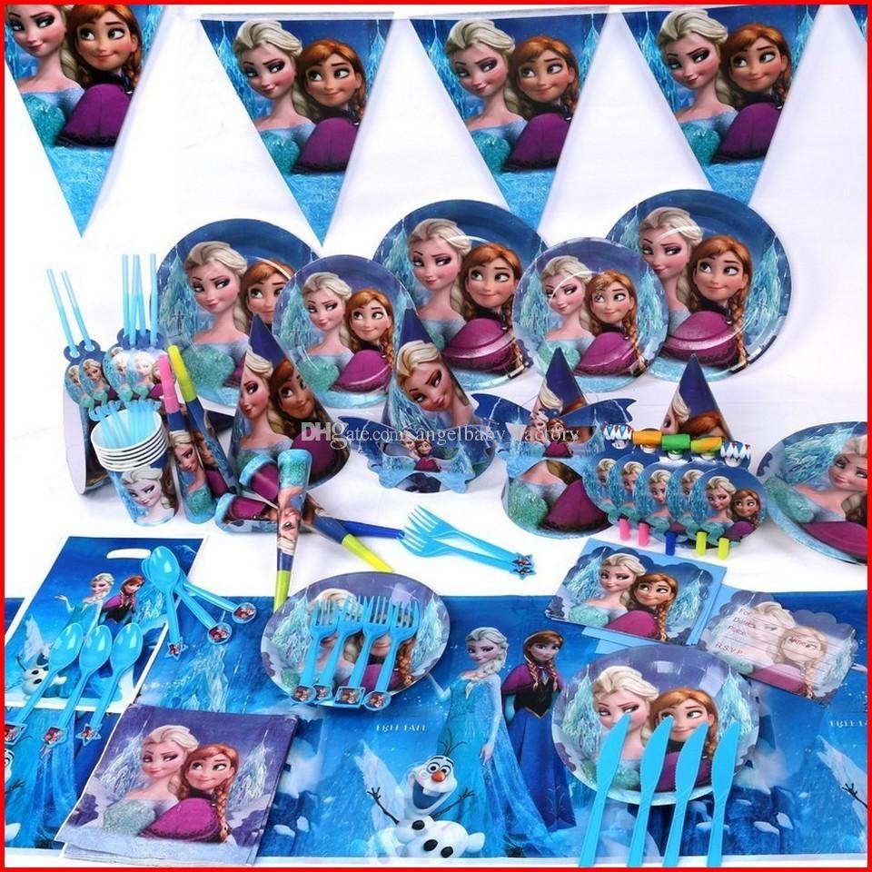 2018 Frozen Birthday Party Decoration Set Frozen Elsa Anna Theme