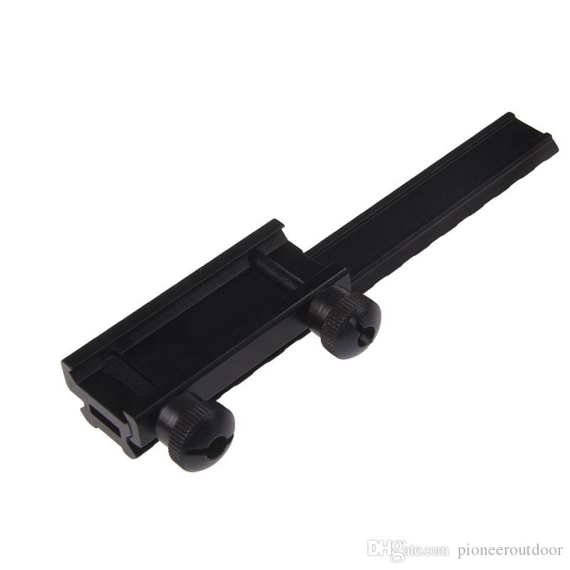 """AR15/M4/M16 with Extension Picatinny rail / See-Through Flat Top 0.5"""" riser mount"""