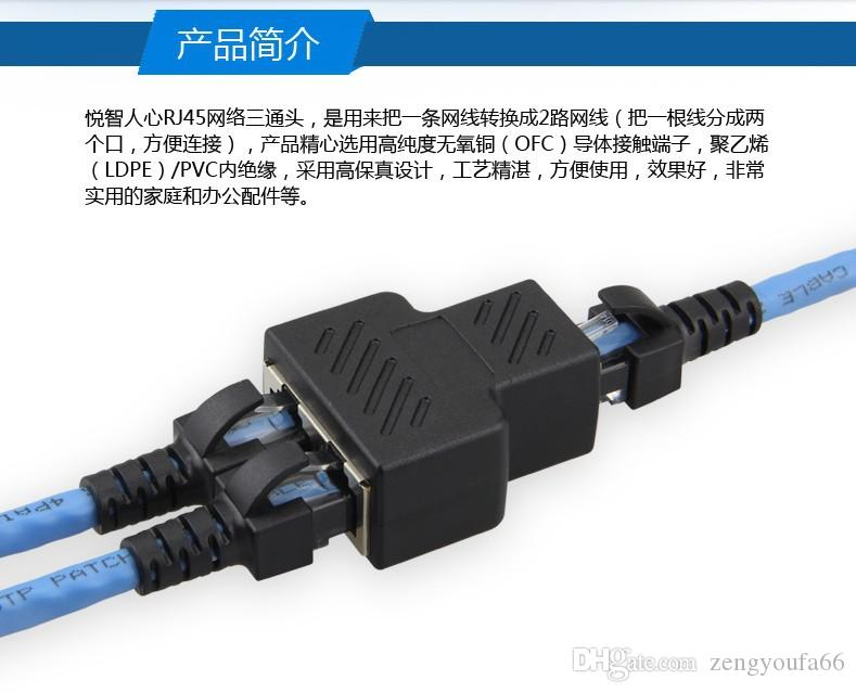 RJ45 network three network cable connector on the joint network interface one point three two