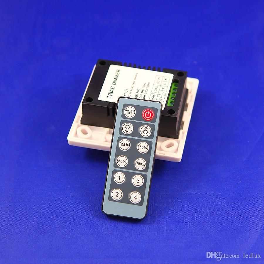 Ücretsiz kargo 150 W uzaktan AC90-265V ile Triyak Dimmer