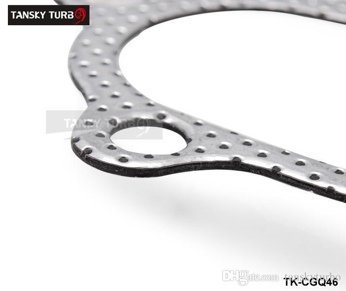 TANSKY - TURBOCHARGER توربو GT25، GT28 5 BOLT TURBO OUTLET DUMP PIPE حشية TK-CGQ46 دينا في الأوراق المالية