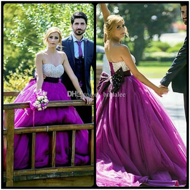 Purplr Plug Size Celtic Wedding Dresses