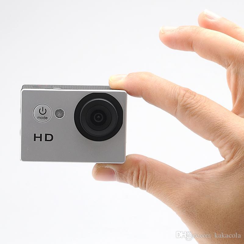 Горячие продажи 1080p HD Спорт камеры-2.0 мегапикселей CMOS датчик 140 градусов объектив угол 30 метров водонепроницаемый диапазон Бесплатная доставка
