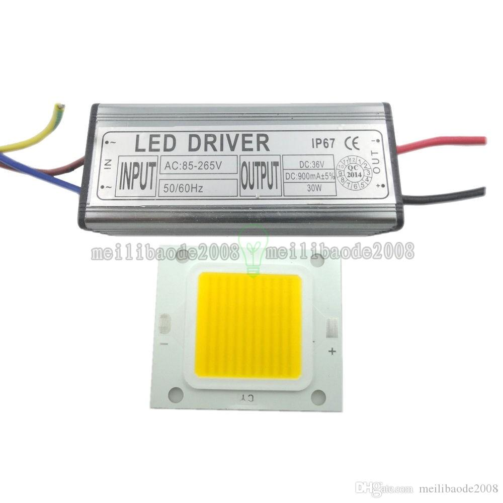 Светодиодный SMD чип лампа 10Вт 20Вт 30Вт 50Вт 100Вт светодиодный драйвер питания водонепроницаемый высокой мощности LLWA001