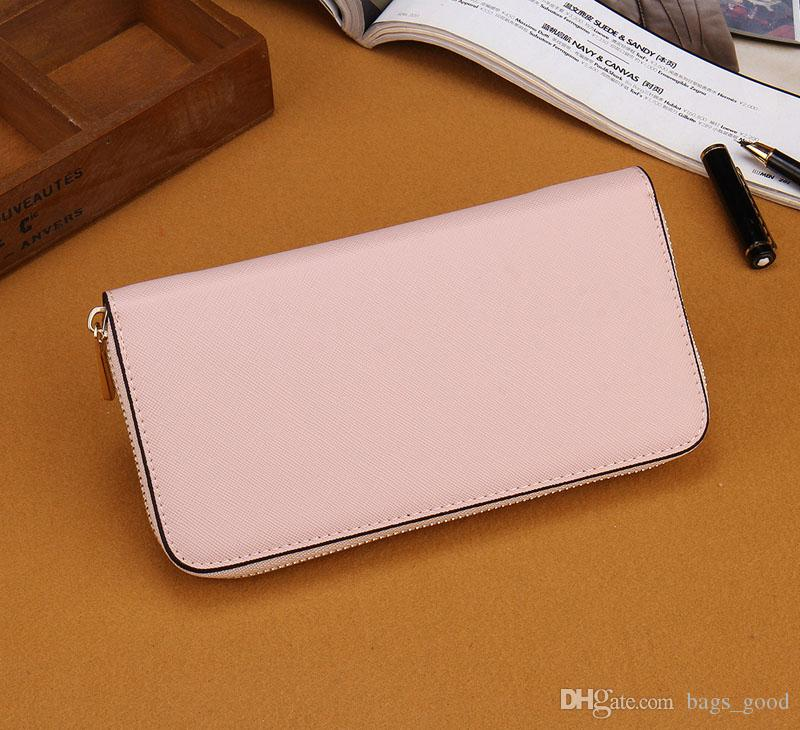 Hot! wholesalefashion single zipper cheap luxury women pu leather wallet lady ladies woman long purse