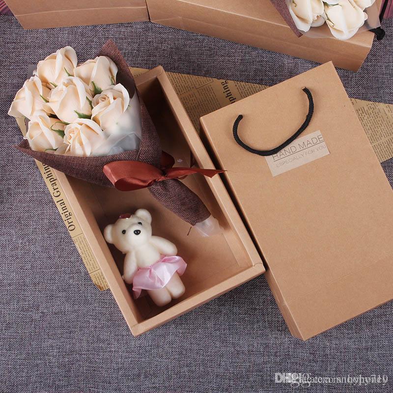 hardcover 7 flower soap box diy creative valentine s day gift