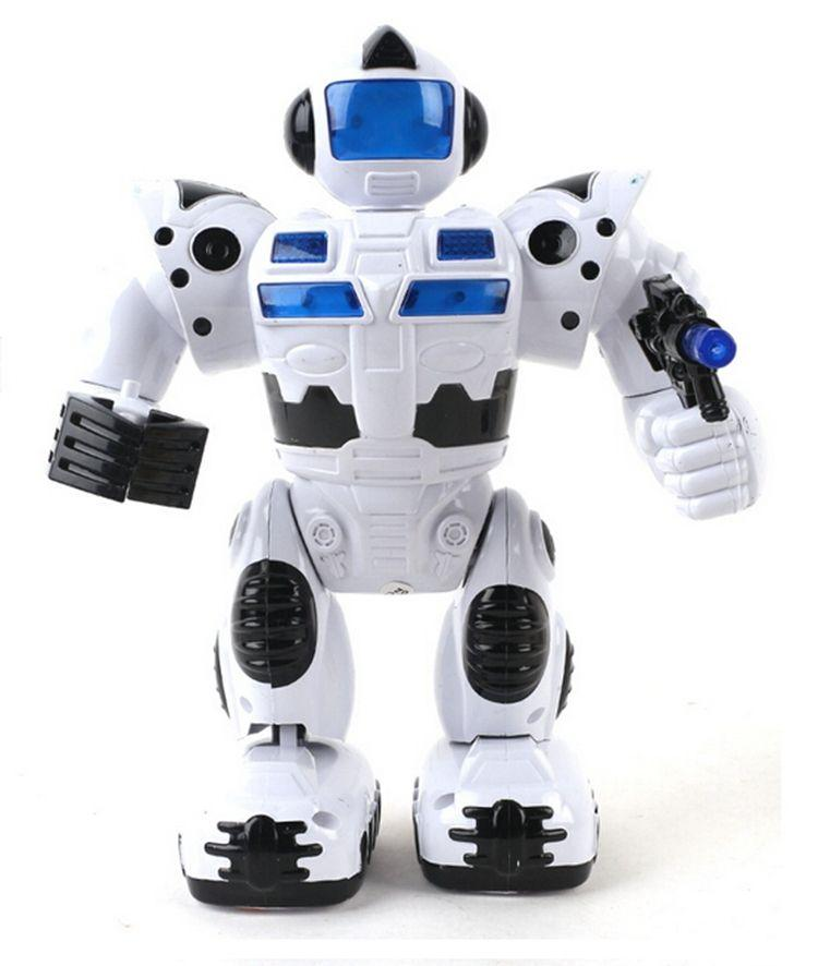 Kids Robot Baby Toy Flashing Electronic Pets Mini Toys For Children