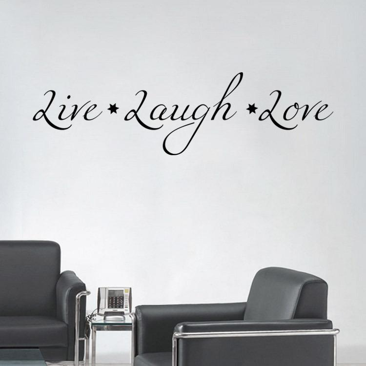 Hot Sale Removable Wall Quote Word Decal Living Room Bedroom Specialized Lettering Wall Art Home Decoration Mural Sticker