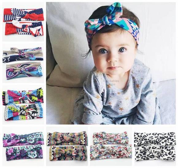 DHL Free Baby Knot Hair Bands Girls Elastic Headwrap Family Matching Flower  Headband For Kid Children Bohemian Hair Accessories Mom Daughter Crochet  Hair ... 82bc5c10d5f