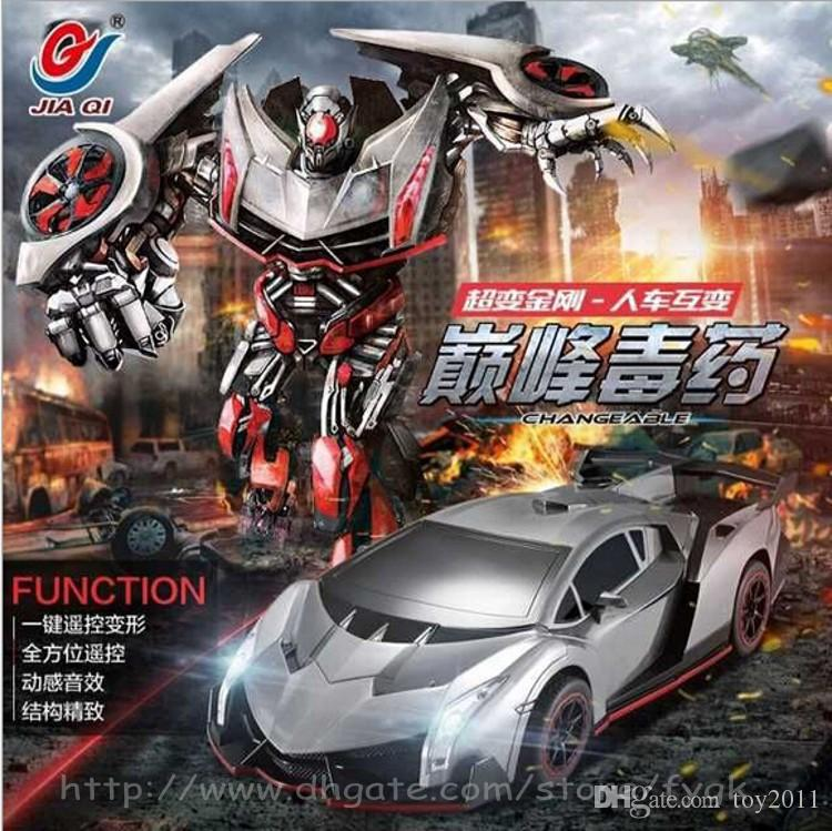 New Arrival Deformation Robot Car Remote Control Toys