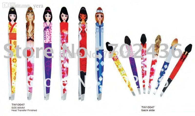 Wholesale Cosmetic Tweezers Professional Beauty Eyebrow Tweezers