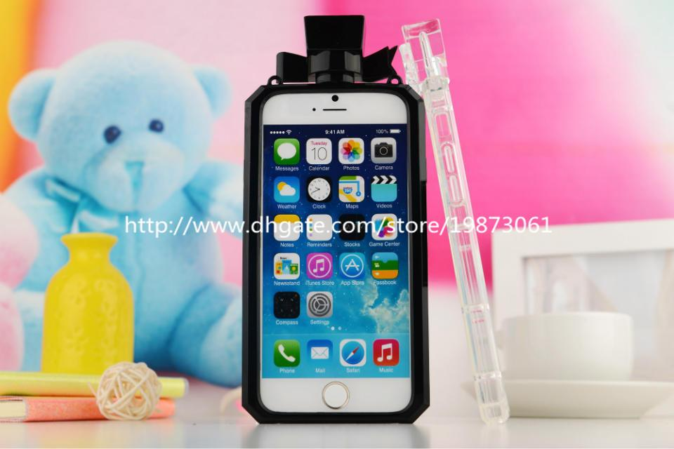 For Iphone 6 Cases TPU Perfume Bottles Design For Apple Iphone 4s 5s 6 Plus Samsung Galaxy Note4 Note3 S5 S4 S6