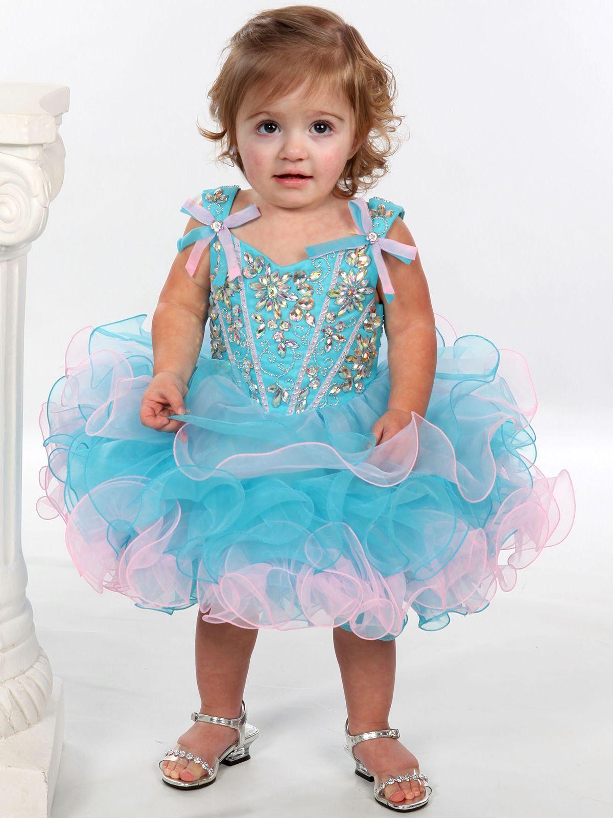 Blue dress age 7 year
