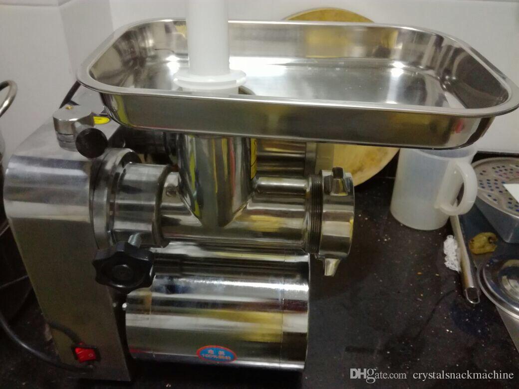 Коммерческая мясо slicer 220 в многофункциональный настольный мясо slicer Шредер электрический мясорубка мясорубка мясорубка из нержавеющей стали колбаса машина