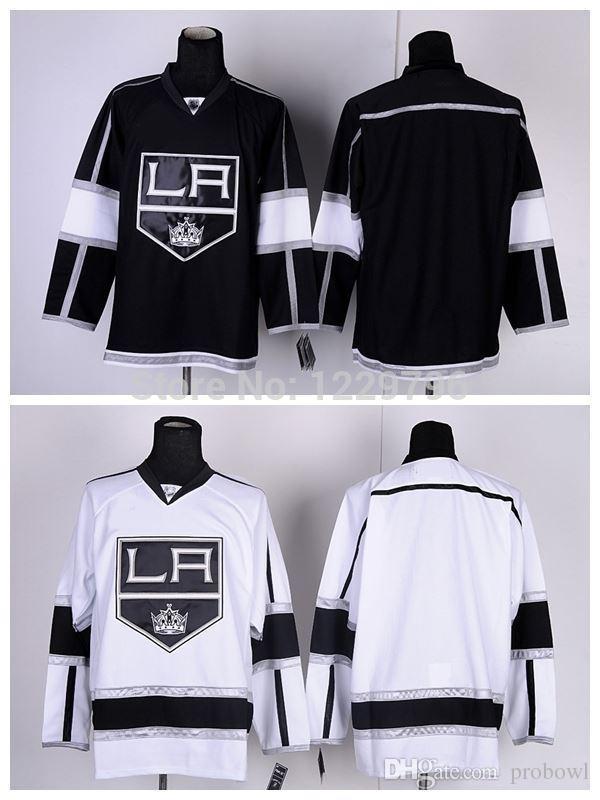 2018 30 Teams Wholesale 2014 Los Angeles Kings Hockey Jerseys Blank Jersey  LA Kings Home Black White Gray Camo Cheap No Name Stitched Jerseys From  Probowl 535c48f70