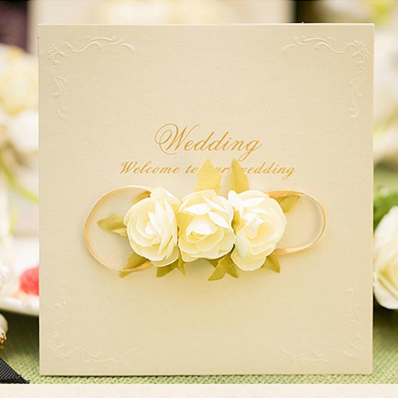 Wedding Invitation Card Design: Rose Wedding Invitation Card Design Free Customized