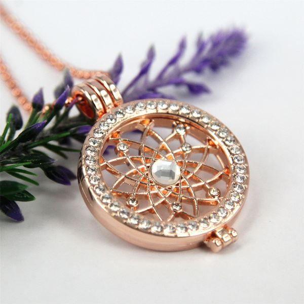 Großhandel 2015 Heiße Verkaufende Rosen Goldmünzen Halskette