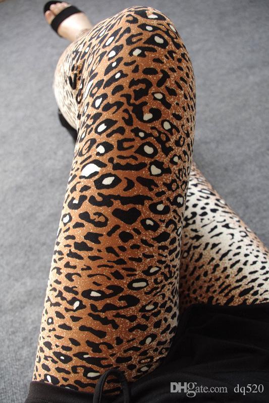 Women Leggings Sexy 8 Styles Fashion Women Leopard Skin Print Leggings 2015 Spring Women Leggings Leopard Print Pattern