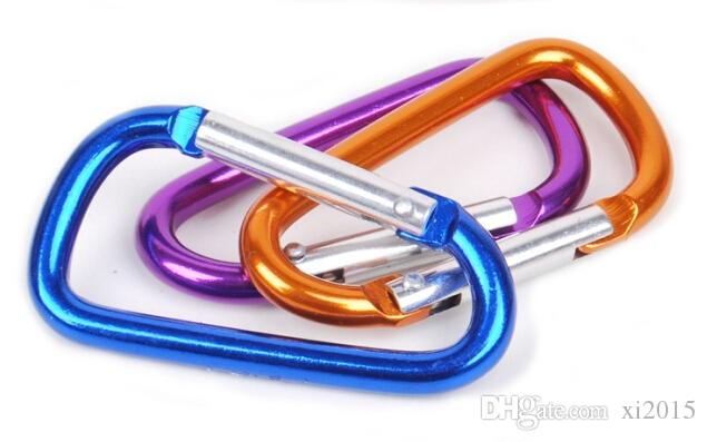 cucurbit shape carabiner for decorationgift Aluminium Alloy trip Bottle Hook Camping Hiking Keychain Key Chain