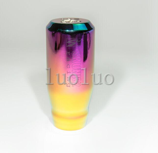 Colorful shift knob universal stopper converted wave converted handball club head with a 5-speed gear head