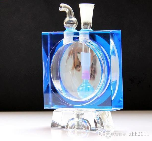 The Beauty of The Crystal Water Bottle ,Wholesale Glass Bongs Oil Burner Glass Pipes Water Pipes Glass Pipe Oil Rigs Smoking