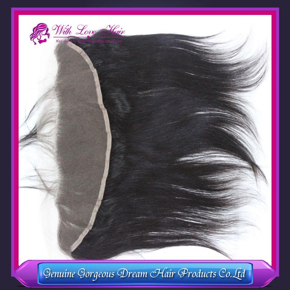 7A Perulu saç dantel frontal kapatma 13x2