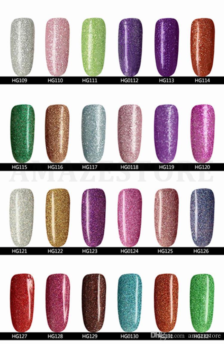 Artículo más caliente Gelish Nail Polish Soak Off Nail Gel para Salon UV Gel 15ml supply, envío gratis