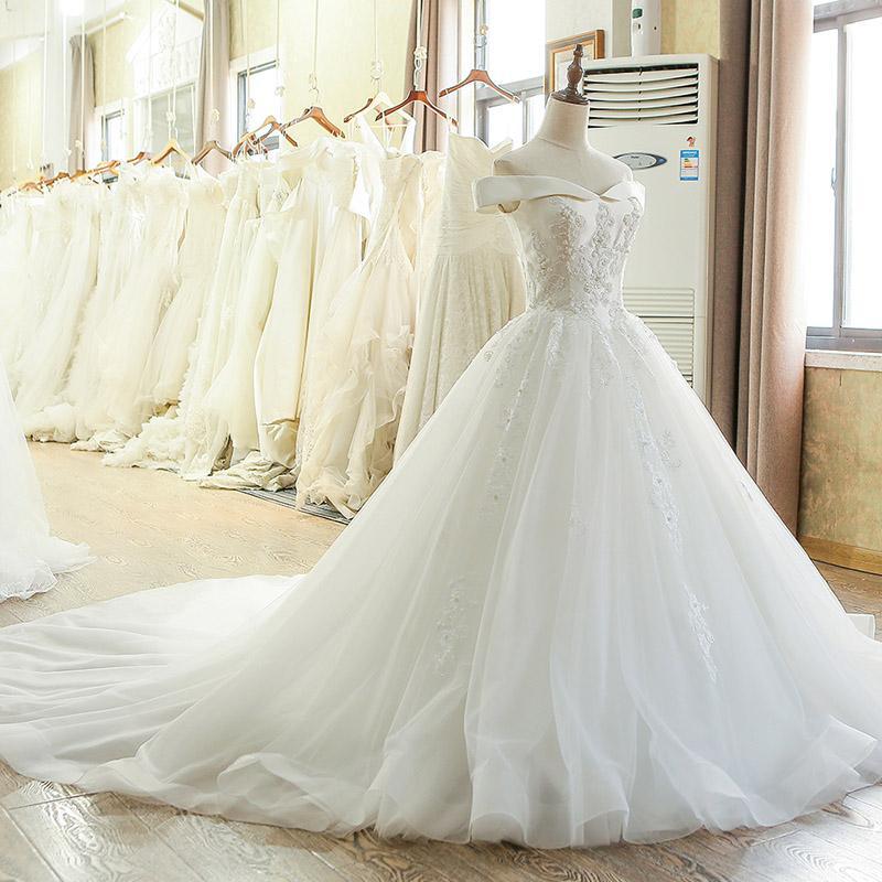 Großhandel Flügelärmeln Brautkleider Vintage Hochzeitskleid 2017 ...