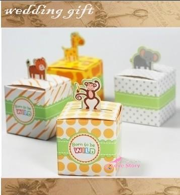 Free Shippinggiraffeelephantmonkeytiger Animals Baby Shower