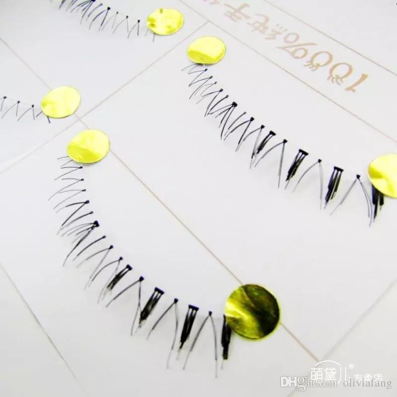 Горячие японские стильные ручной работы поддельных ресниц объемные нижние ресницы обнаженные макияж натуральные ложные ресницы нижние глаза ресницы нижние ресницы