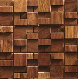 3D Wooden Mosaic Tiles Interior Design Wall Building