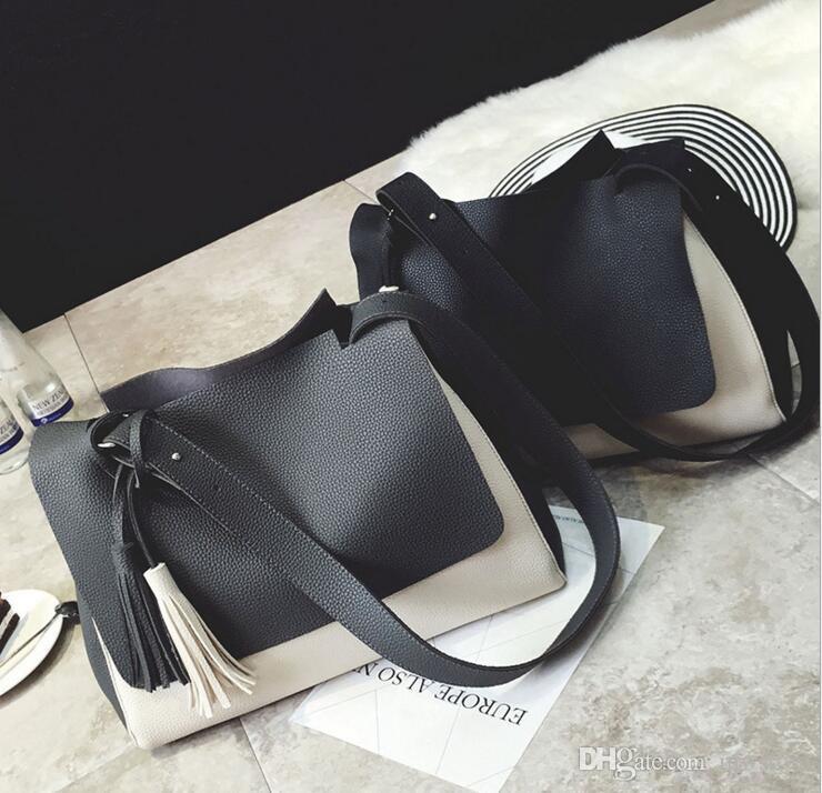 Women Pu Leather Bag Female Fashion luxury Shoulder Bags Famous Brand Crossbody Bags Fringe Tassel Women Messenger Bags herald fashion