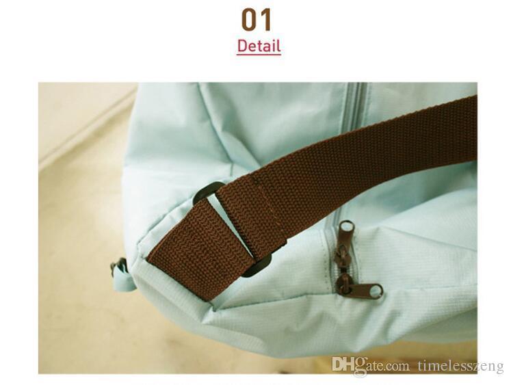 Sacos de viagem ao ar livre portátil dobrável leve mochila à prova d 'água saco de esportes equitação saco de pele mochila de Armazenamento DHL frete grátis