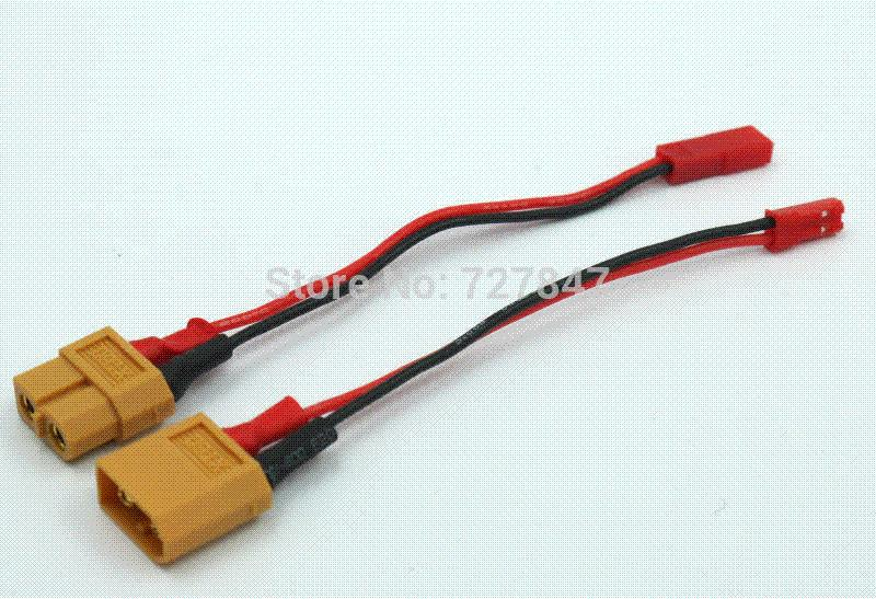 acheter connecteur xt60 jst adaptateur prise du chargeur de batterie lipo mod le batterie moto. Black Bedroom Furniture Sets. Home Design Ideas