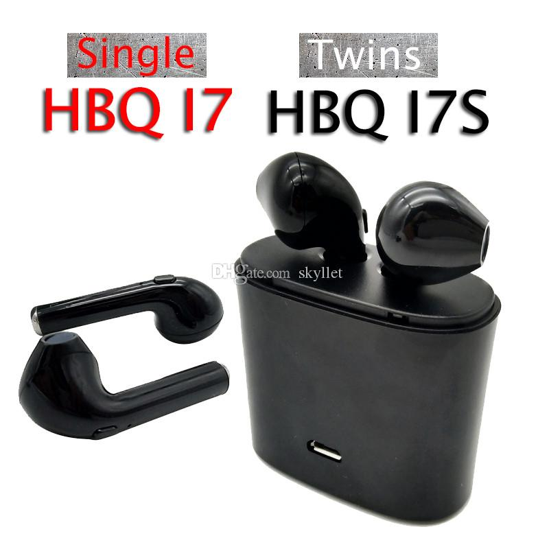 7c8bfbd42e4 Single I7 Bluetooth Headphones Headset With Mic Stereo For IOS IPhone  Android Samsung Headphone Wireless Twins TWS HBQ I7s I8 Mini Earphones  Wireless Phone ...