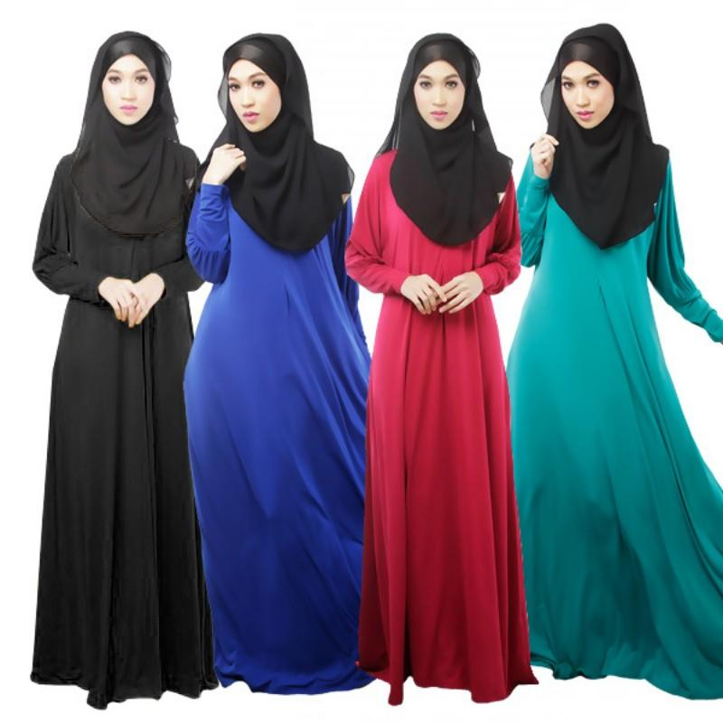2015 Sunday Clothes Muslim Long Dress Islamic Dress Female Long ...